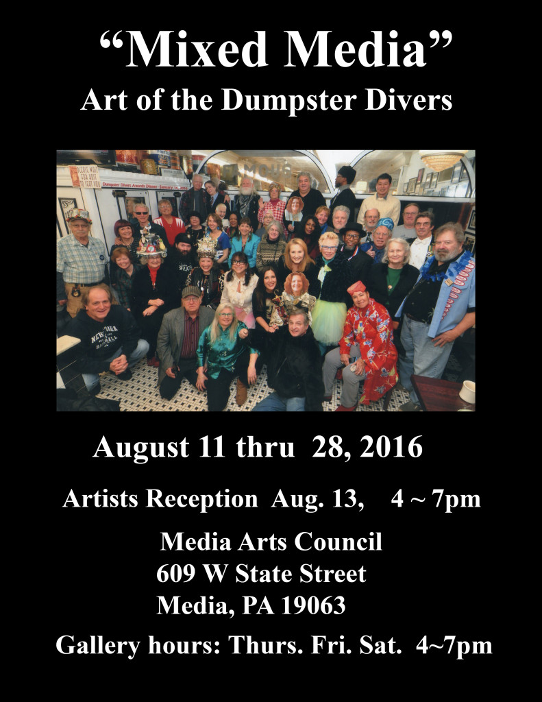 Mixed Media Art Show Aug 2016