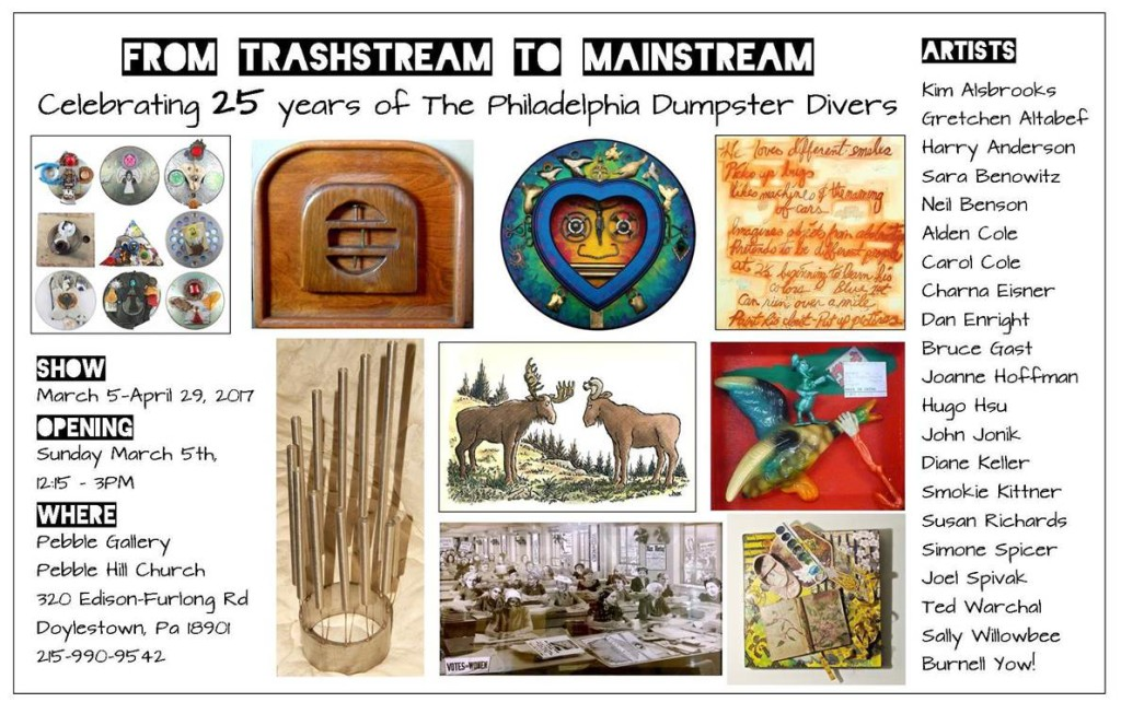 From Trashstream to Mainstream Mar-Apr 2017